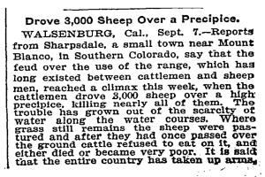 New York Times - September 12, 1900